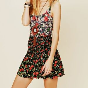 NWT Free People English Garden Mini Dress